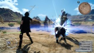 Final Fantasy XV chocobo equipo ataques 7