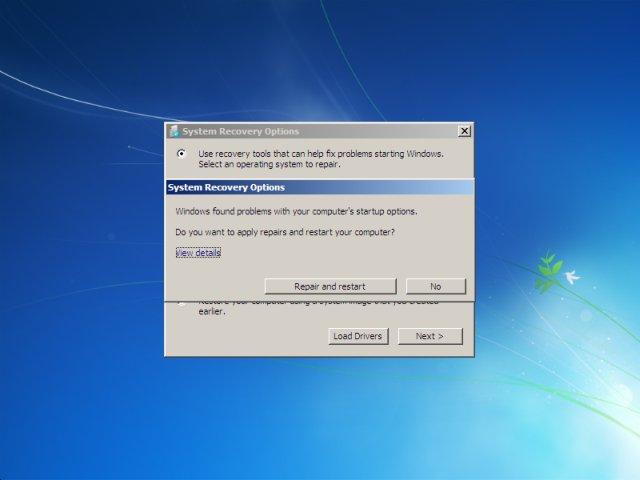 Windows recovery tools - windows repair install