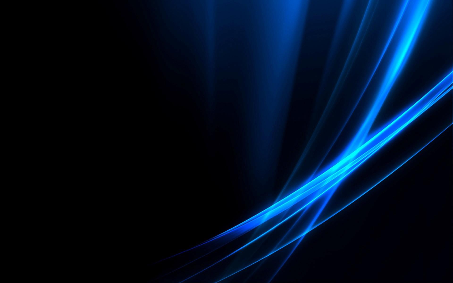 Blue Neon Hd Wallpaper Fondo Oscuro Dedominiopublico