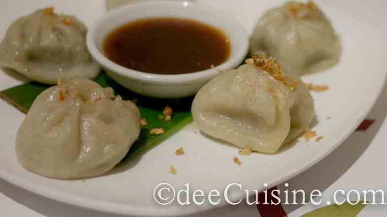 Chal Chilli Meaty Dumplings