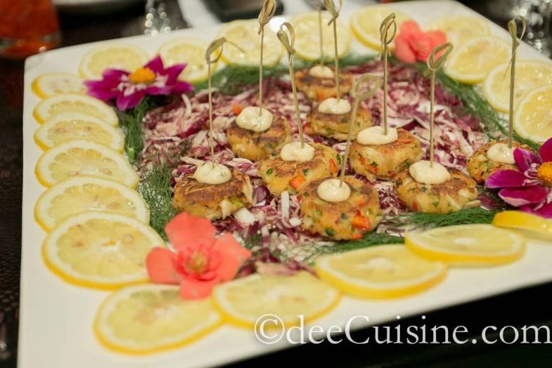 Citrus Aioli Crab Cakes