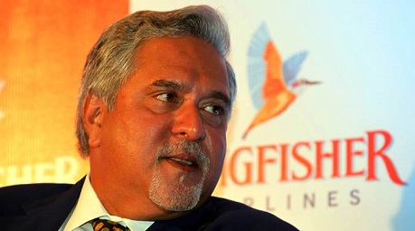Kingfisher chairman Vijay Mallya arriving to address a media conference to explain the airline's plans to stay afloat in Mumbai on Tuesday. *** Local Caption *** Kingfisher chairman Vijay Mallya arriving to address a media conference to explain the airline's plans to stay afloat in Mumbai on Tuesday. Express Photo By Dilip[ Kagda.15112011. Mumbai.