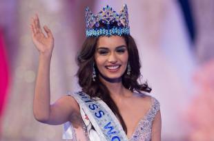 manushi chhillar miss world 2017 winning