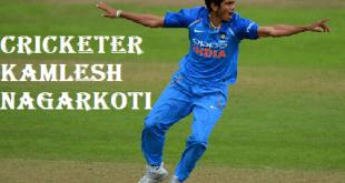 Cricketer Kamlesh Nagarkoti