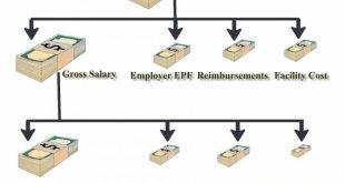 basic take-home gross salary CTC
