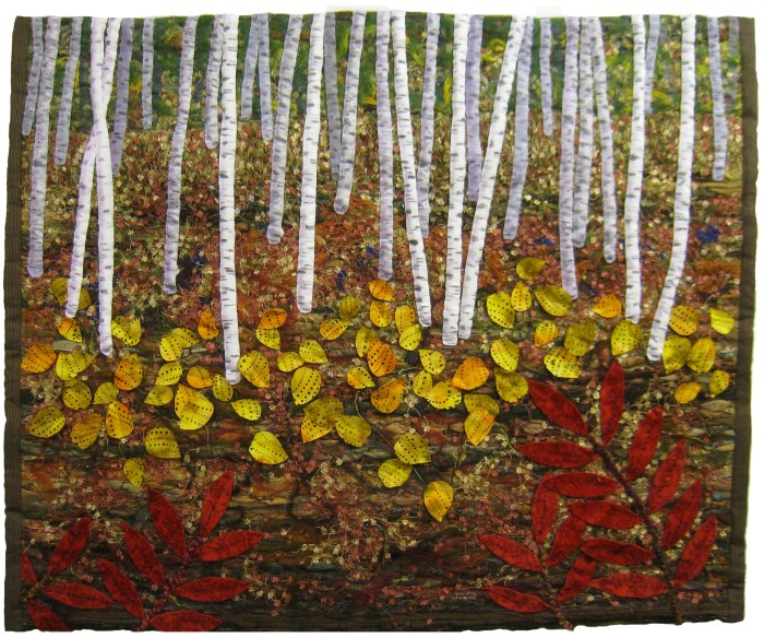 Birches © Roslyn DeBoer