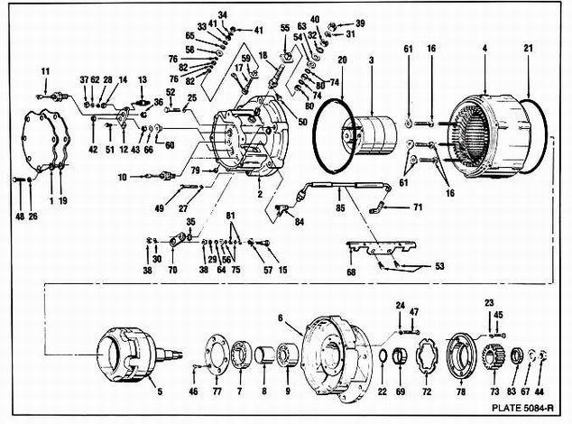 delco remy alternator wiring diagram internal