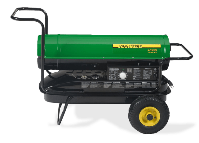 Portable Heaters Ac 135 Kerosene Fired John Deere Ca