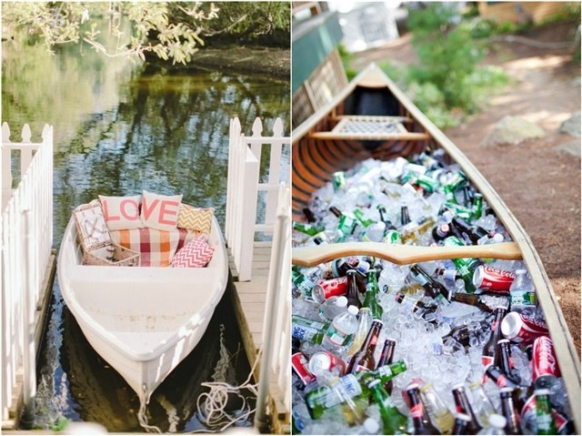22 Unique Rustic Canoe Wedding Ideas Worth Trying Deer