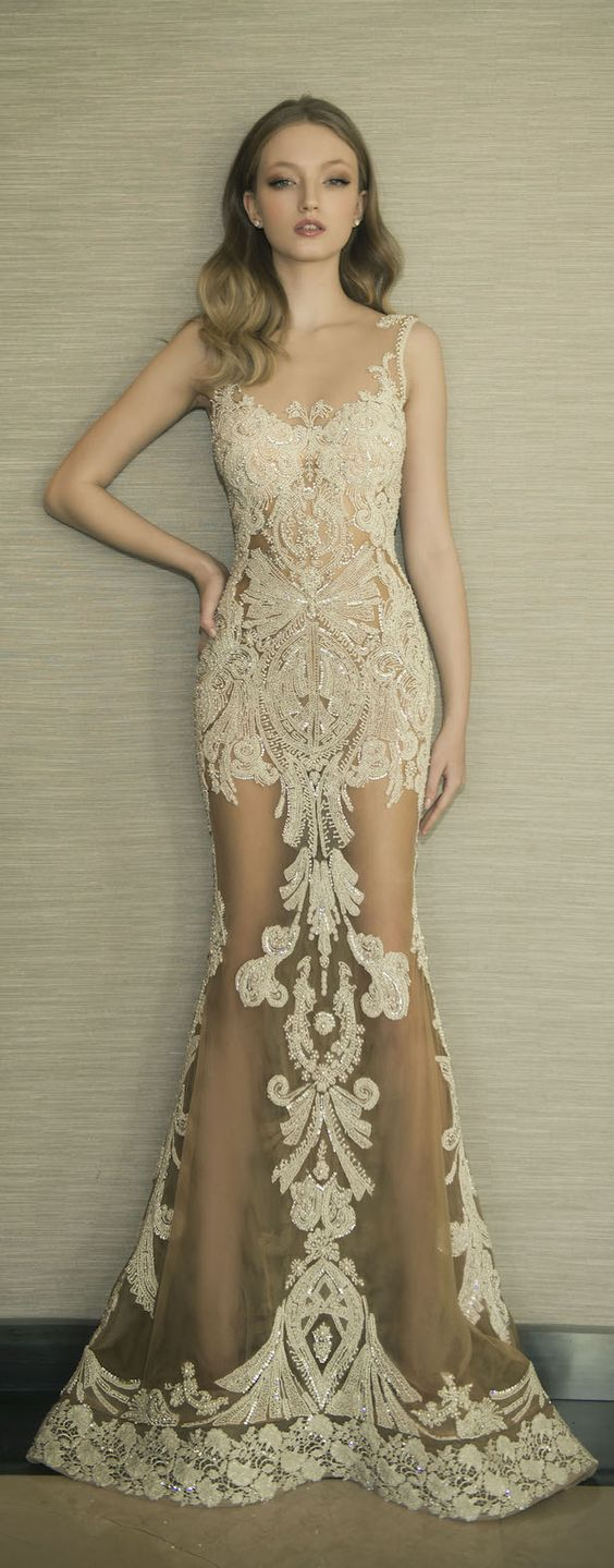 lace wedding dresses and gowns wedding dresses with lace Dresses from Stella York Dany Mizrachi Lace Wedding Dress