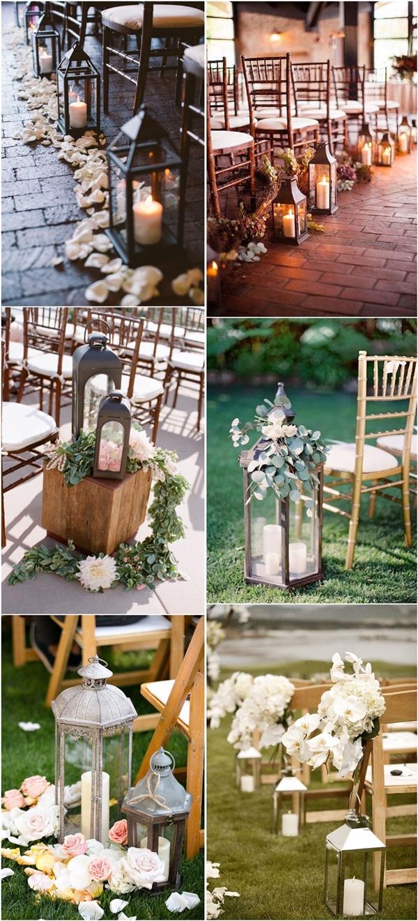 lanterns wedding aisle decor ideas wedding aisle decorations rustic lantern wedding aisle decor ideas