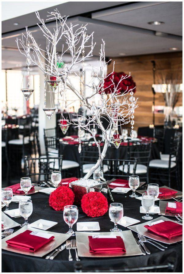 35+ Red and Black Vampire Halloween Wedding Ideas Deer Pearl Flowers