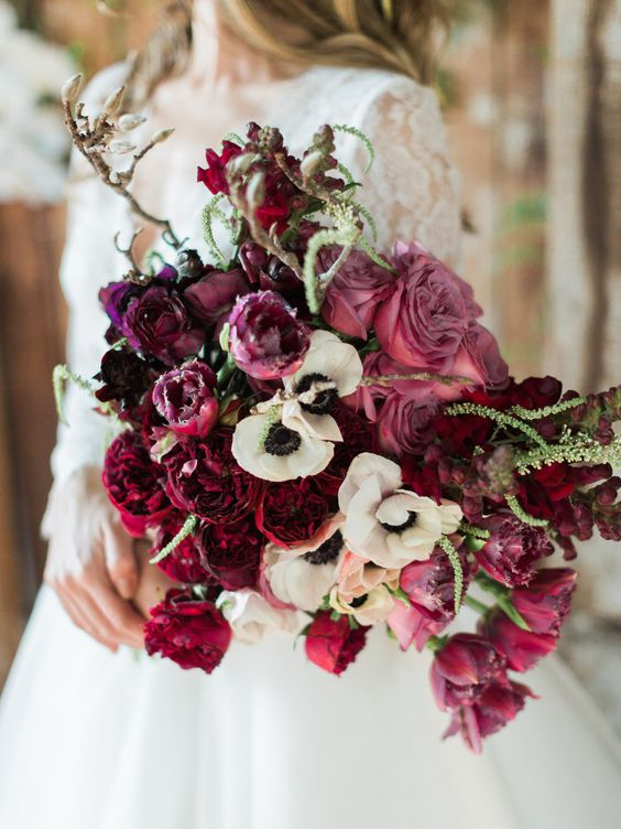 30 Fuchsia  Hot Pink Wedding Color Ideas Deer Pearl Flowers - pink wedding photo