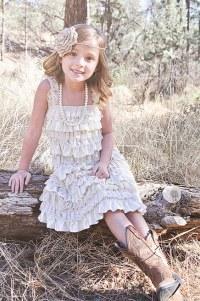 20 Flower Girl Dresses For Country Weddings   Deer Pearl ...