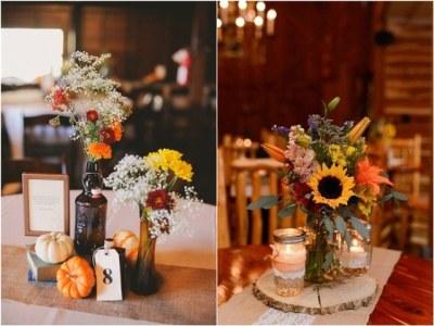 45 Fall & Autumn Wedding Centerpieces Ideas | Deer Pearl ...