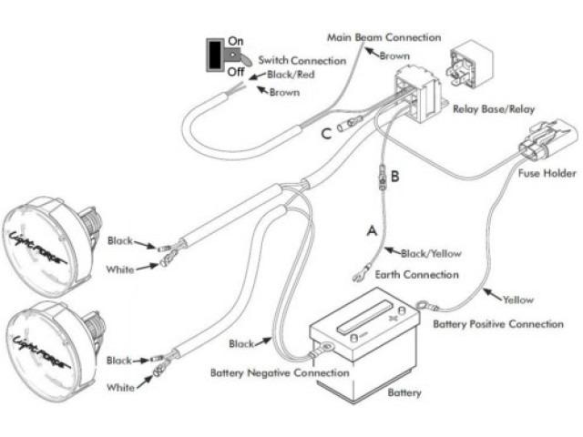 Wiring Diagram For Led Flood Lights Wiring Diagram