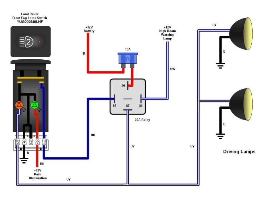 Dc Relay Wiring Diagram For Fog Lights - Auto Electrical Wiring Diagramledningsdiagramx.webredirect.org