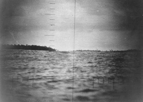 Makiin Island thru scope
