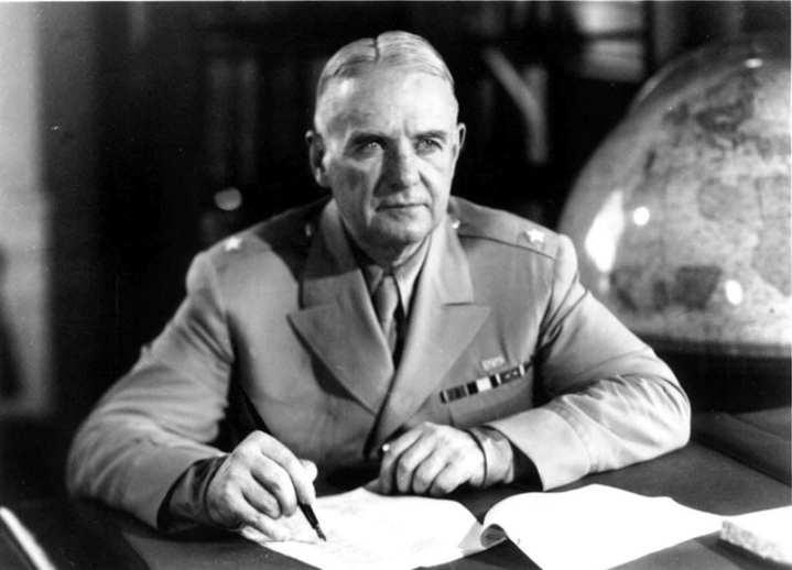 Maj. Gen. William Joseph Donovan, the namesake of the prestigious OSS Society award, shown here as a brigadier general.  OSS photo.