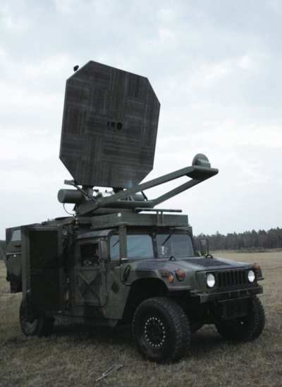 An Active Denial System being evaluated by the 820th Security Forces Group. The Active Denial System is a non-lethal weapon designed to engage and repel human targets by projecting a beam of energy that creates an intolerable heating sensation on the skin. U.S. Air Force photo by Airman 1st Class Gina Chiaverotti.