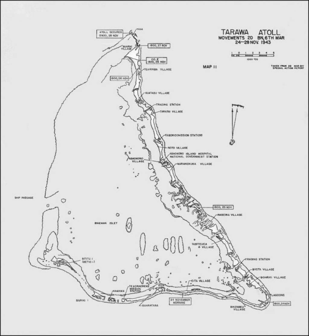 Tarawa Map
