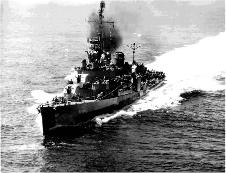 USS Ringgold (DD 500)