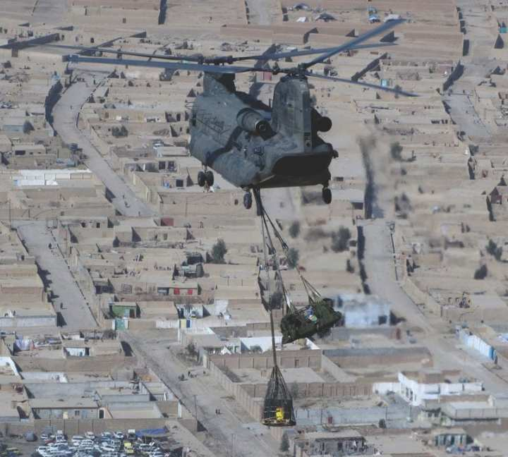 Canadian Forces Chinook