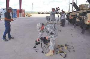 PDTE AFSB equipment