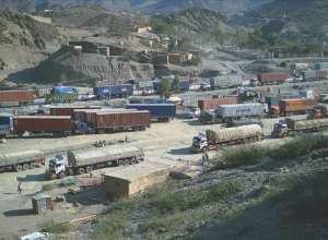 Torkham border crossing