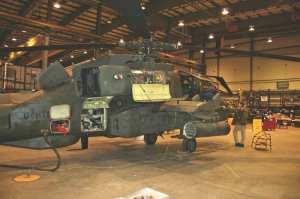 maintenance on Dutch Apaches