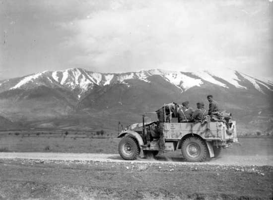 British Army In Greece 1941