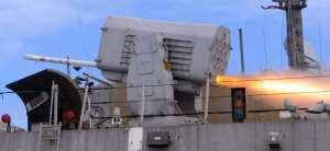 RAM firing aboard LCS