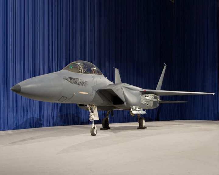 Boeing F-15 Silent Eagle mock-up