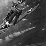 SBDs of VS-8 Over Mikuma