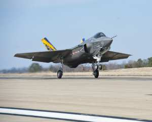 F-35C Joint Strike Fighter test aircraft