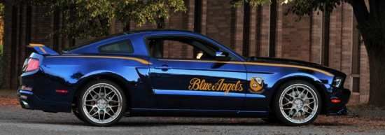 Ford Mustang GT 2012 Blue Angels Edition