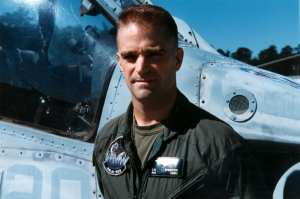 Marine Super Cobra pilot Maj. Craig Streeter