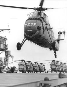 U.S. Marine Corps Sikorsky HUS H-34.