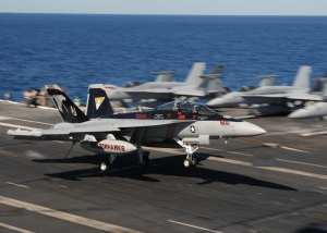 EA-18G Growler USS George H.W. Bush (CVN 77)