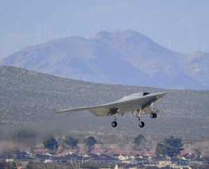 X-47B flight testing