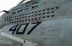 A-7E Corsair mission marks
