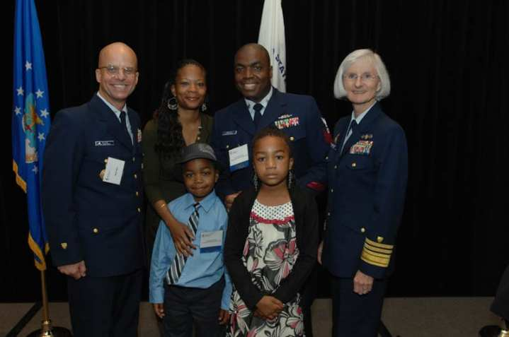 Coast Guard family of the year award