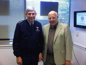 Robert F. Dorr and Gen. Norton Schwartz-11-10-06