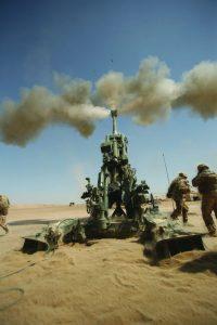 Lightweight 155mm Howitzer Fire Mission
