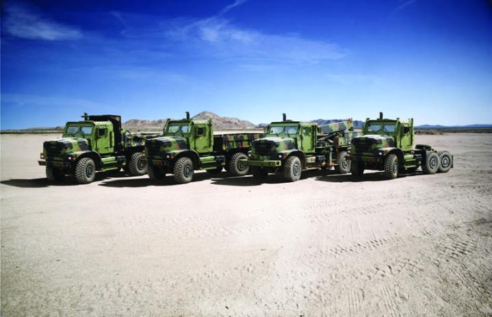 Medium Tactical Vehicle Replacement (MTVR) Groupshot