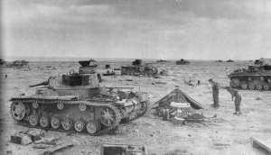 Pzkfw IIIs Sidi Rezegh Western Desert 1941
