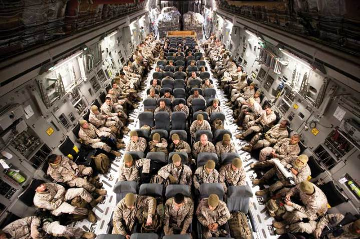 U.S. Marine Corps Deploying to Afghanistan