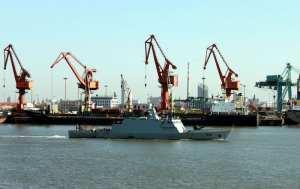PNS Azmat sea trials
