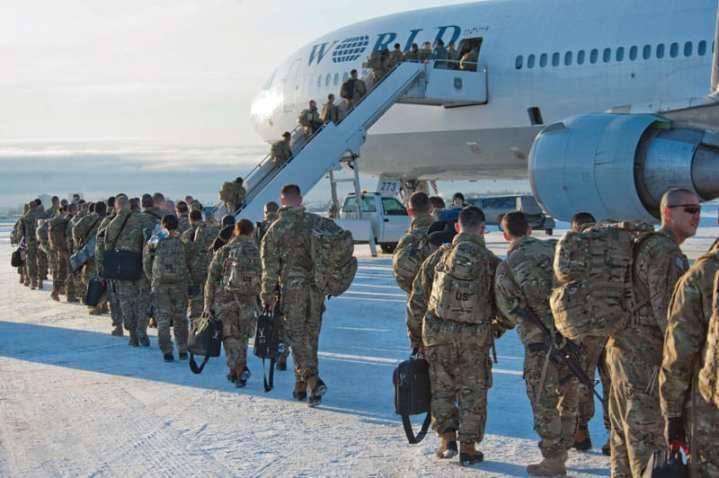 Troops deploy Afghanistan