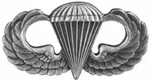 U.S. Army Airborne Basic Parachutist Badge